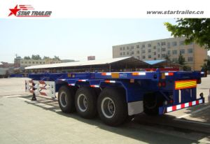 40FT Gooseneck Skeleton Container Chassis for Sale pictures & photos