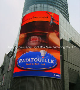 Supper Market Outside Fexible Model P10 LED Video Wall pictures & photos