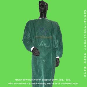 Disposable Nonwoven Surgeon Gown pictures & photos