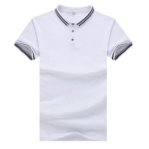 Blank 95% Cotton 5% Spandex 180GSM Men′s Polo Shirts pictures & photos