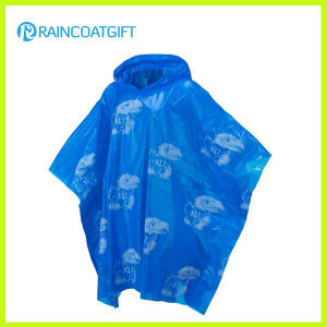 Promotional Disposable PE Raincoat Rpe-028A pictures & photos