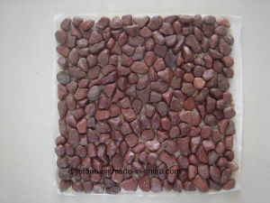 Red Micro Cobble Stone Tile for Landscaping pictures & photos