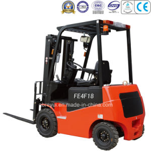 1000-1750kg 4-Wheel Electric Forklift pictures & photos