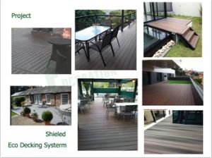 Outdoor Swimming Pool WPC Composite Decking with Ce ASTM Certificate pictures & photos