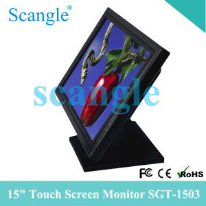 Hot Sales! Scangle 15 Inch Touch Screen Monitor pictures & photos