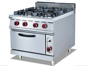 Gas Range with 4-Burner and Oven (GH-787A) pictures & photos