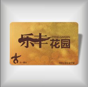 Golden PVC Card (LBD-PVC-12)