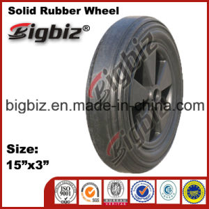 Good Quality 15 Inch Rubber Wheel for Wheelbarrow pictures & photos