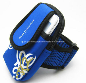 Custom Hot Sale Neoprene Outdoor Sports Mobile Phone Arm Band pictures & photos