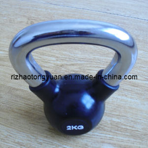 Rubber Coated Kettlebell pictures & photos