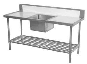 Stainless Steel Bench Top With Sink