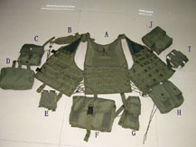 Military Multifunctional Field Combat Vest with Removable Pouch pictures & photos