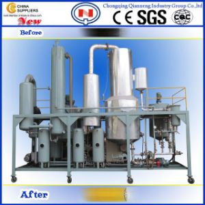 China waste engine oil recycling machine distillation for Used motor oil recycling equipment