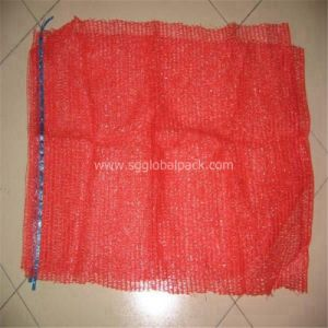 50*80cm Red Raschel Mesh Bag pictures & photos