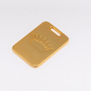 High Quality Fashion Gold Zipper Pull for Zippers pictures & photos