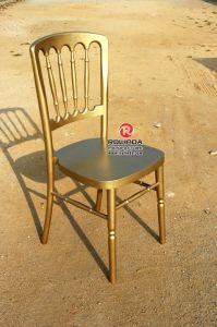 Banquet Golden Chateau Chair for Wedding pictures & photos