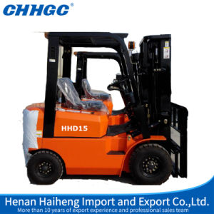 Professional Supply Chinese Side Load Diesel Engine Forklift 1.5t pictures & photos