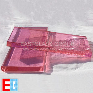 Colored Crystal/Peach Puff/Color/Building Glass pictures & photos