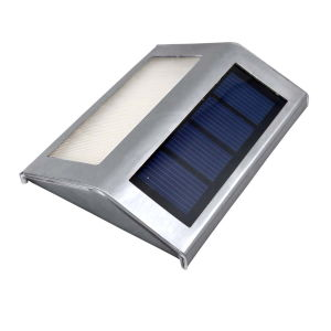 2LED Waterproof Solar Light Powered Stainless Steel Outdoor pictures & photos