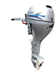 Sail 4 Stroke 15HP Outboard Motor, E-Start and Remote Control pictures & photos