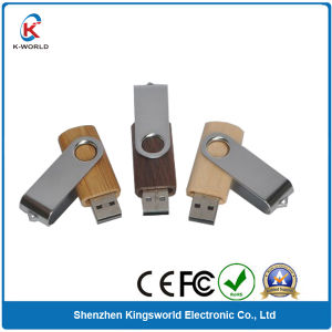 Cheapest Wood Swivel USB Flash Disk