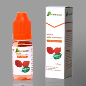 Nicotine Replacement Series E Liquid with Aspberry Flavor