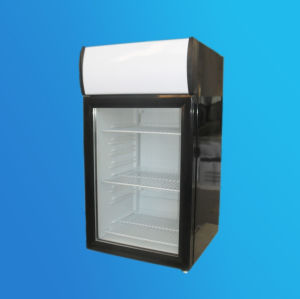 Table Top Showcase, Display Cooler, Beverage Cooler Sc-55L pictures & photos