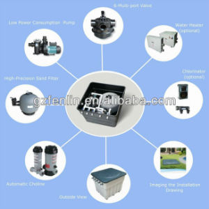 Finn Forest High Performance Fiber Glass Swimming Pool Sand Filter pictures & photos