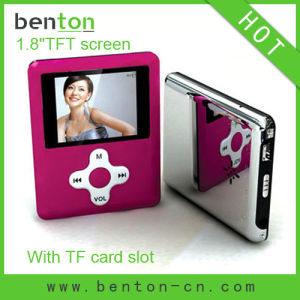 MP4 Media Player with Memory Card Slot (BT-P203C)