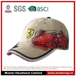 Cool Printing Ferrari Racing Cap in Cotton