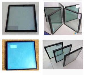Sound Proof Energy Saving Therma Tempered Low-E Insulated for Windows Curtain Wall (JINBO) pictures & photos