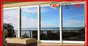 Double Glazed Aluminum Sliding Glass Doors pictures & photos