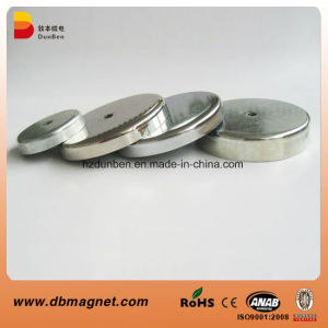 Strong Neodymium Pot Magnet with Metal Coat pictures & photos