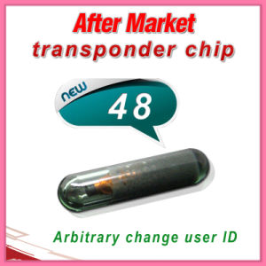 OEM ID48 Chip Glass Auto Transponder Chip pictures & photos