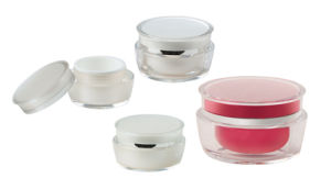 Diameter 64mm Plastic Jars with Lids Wholesale Height 44mm Capacity 30ml pictures & photos
