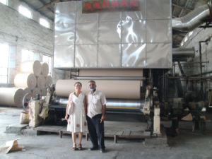 Fluting Paper Making Machine, Brown Paper Equipments pictures & photos