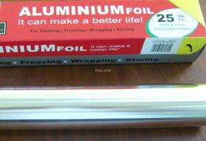 8011 Small Roll Aluminium Catering Foil