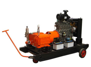 High Pressure Water Jet Cleaner Machines (Diesel Engine-drive)