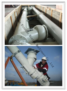 Pipe Auger Spiral Conveyor Exported to USA pictures & photos