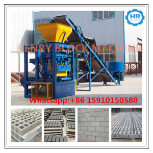 Qt4-24 Manual Hollow / Solid Block Making Machine Construction Machine Block Machine Price pictures & photos