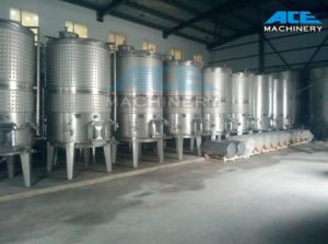 Sanitary Red Wine Fermentation Tank (ACE-FJG-1B) pictures & photos