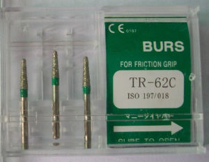 Dental Equipment of Diamond Burs (for High speed handpiece) (3PCS/box) pictures & photos