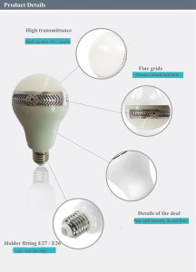 E27 LED Light Bulb Lamp 10W White Warm White with Bluetooth Audio Speaker