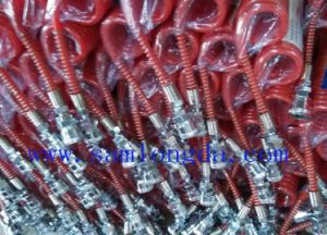PU Spiral Air Hose Tube with Sp Quick Coupler (5*8mm*10m) pictures & photos