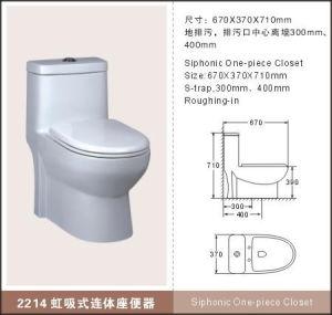 Ceramic Toilet (2214)