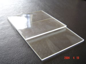 Flat Borosilicate 3.3 Glass Sheet pictures & photos