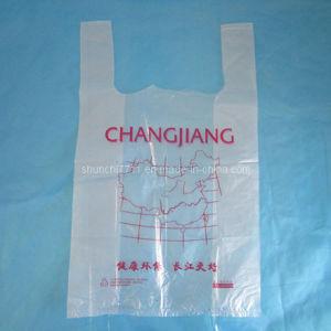 Plastic Vest Shopping Bag T-Shirt pictures & photos