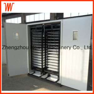 Two Egg Cart Automatic Duck Egg Incubator for Sale pictures & photos
