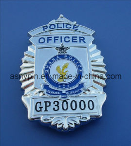 Custom Brass Metal Police Badges pictures & photos