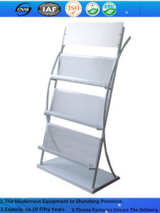 Magazine Newspaper Brochure Literature Display Rack Holder